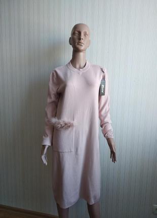 Платье трикотажное италия
