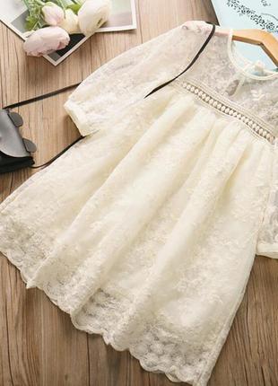 Платье на девочку 3-9 лет