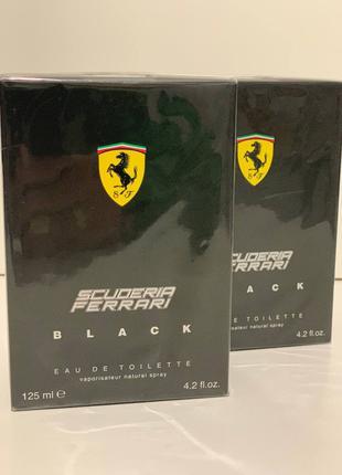 Ferrari Scuderia Ferrari Black 125ml Парфюмированная вода мужская
