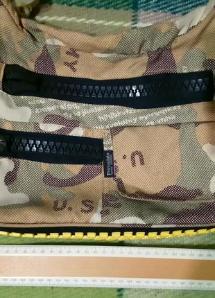 Сумка почтальонка на плечо тряпичная мессенджер