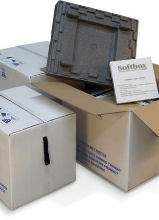 Термобокс, термоконтейнер, термоящик. Softbox. 100 литров