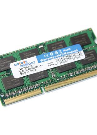 Модуль памяти 8ГБ для ноутбука SoDIMM DDR3 8GB 1600 MHz