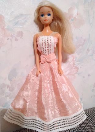 Одежда для куклы Барби-платье-сарафан