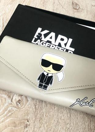Новый женский кошелёк karl lagerfeld.