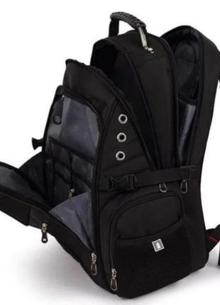 Швейцарский рюкзак SwissGear 8810 с дождевиком. Стильный