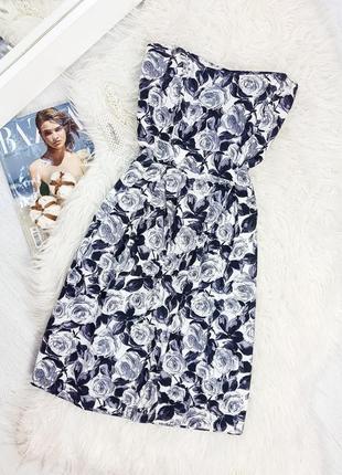 Платье-бюстье в розы от dorothy perkins