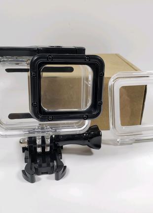 Аквабокс с сенсорной крышкой для GoPro 7, 6, 5, HERO 2018 Подводн
