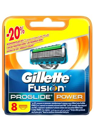 Сменные картриджи (Fusion Proglide POWER, Fusion Proglide POWER N