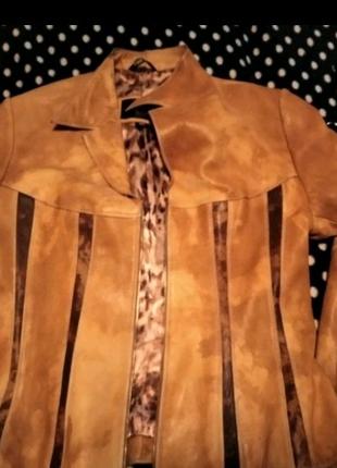 СРОЧНО, НОВАЯ Кожаная куртка 100%
