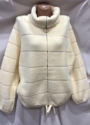 Куртка  поперечка альпака,  2 размера, качество люкс