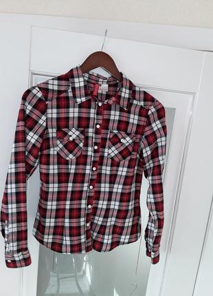 Рубашка в клеточку, клетчастая рубашка