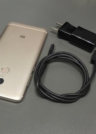 Смартфон Xiaomi Redmi Note 4, 3/64, корпус алюміній, колір золото