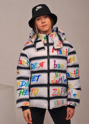 Куртка на девочку весна-осень 2021 демисезонная стильная модна...