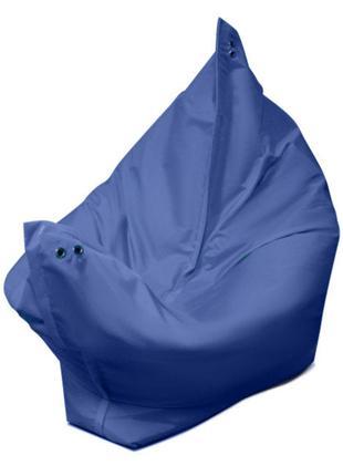 мешок-кресло (130х90 см) синий