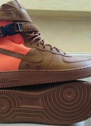 Кроссовки nike sf-af1 high desert ochre zoom m2k monarch jorda...