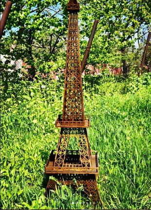 Эйфелева башня , подарок, из дерева большая, знаковый сувенир.