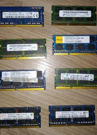 Память для ноутбука 4Gb DDR3