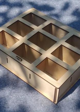 Деревянная шкатулка упаковка для подарка