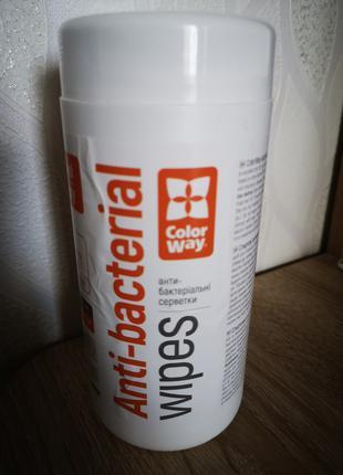 Салфетки спиртовые антисептические Colorway