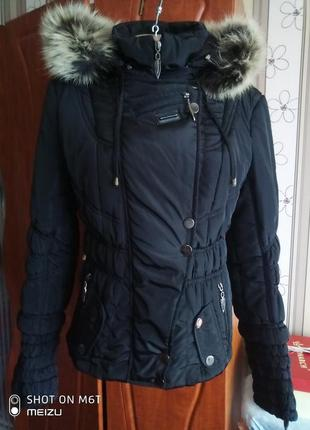 Крутая куртка деми, теплая зима