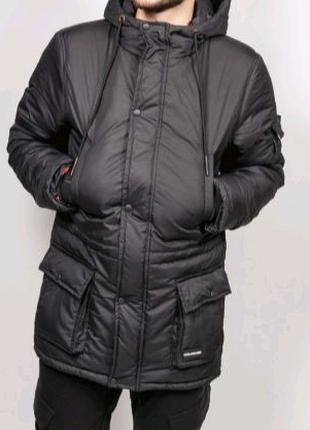 Зимняя куртка, парка, пуховик, Аляска размер XL