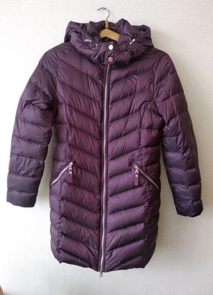 Женское зимнее пальто куртка пуховик Marks&Spencer Англия р.12.