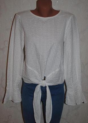 """Блуза из фактурной ткани """"h&m"""""""