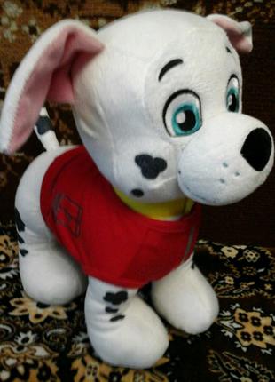 Мягкая игрушка собачка далматинец Маршал щенячий патруль