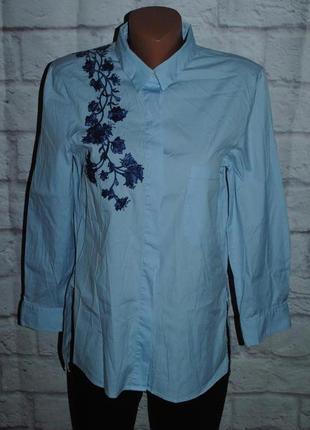 """Рубашка с вышивкой """"zara woman"""""""