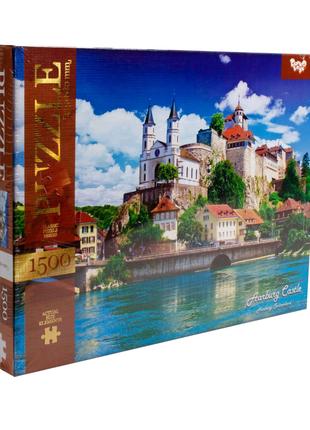 """Пазлы """"Замок Арбург, Швейцария"""", 1500 элементов"""