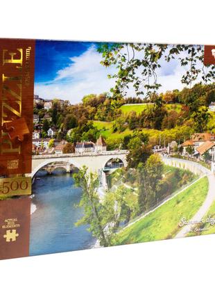 """Пазлы """"Солнечный день, Берн, Швейцария"""", 1500 элементов"""