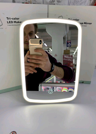 Дзеркало Xiaomi Jordan-Judy Tri-color LED Makeup Mirror (NV505)