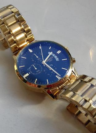 Золотые часы NIBOSI (ОРИГИНАЛ, Водонепроницаемые, Кварц)