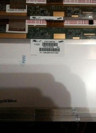 Матрица 17,3 N173FGE LTN173KT01 B173RW01 40 pin led 1600×900 NORM