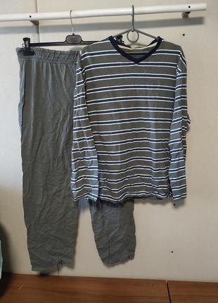 Трикотажная пижама размер l