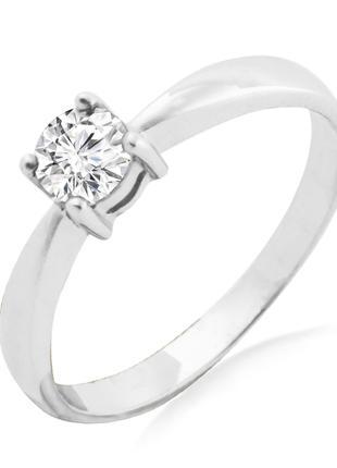 Золотое кольцо с натуральным бриллиантом 0,44 карат 17,5 мм НОВОЕ