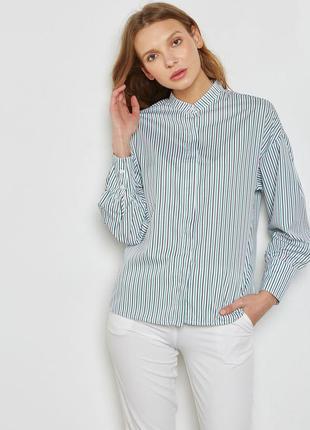 Стильная рубашка, блуза mango в полоску.