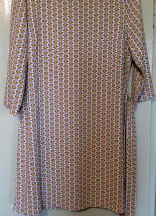 Красивое платье с поясом primark