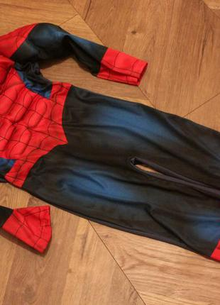Костюм человек-паук с мускулами marvel spider-man на 3-4 года ...