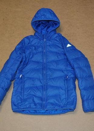 Adidas детский пуховик зима 11-12 лет