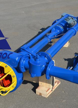 Насос для навоза НПФ 1/10 аналог НЦИ-Ф-100