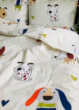 Детский сменный комплект в кроватку