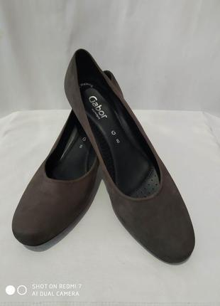 Кожаные туфли gabor comfort easy walking