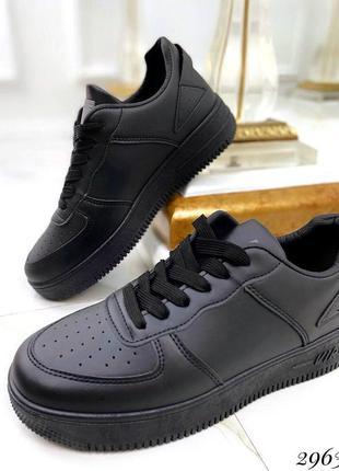 Кроссовки air чёрные