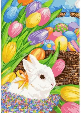 Картина по номерам - Великоднє кроленя