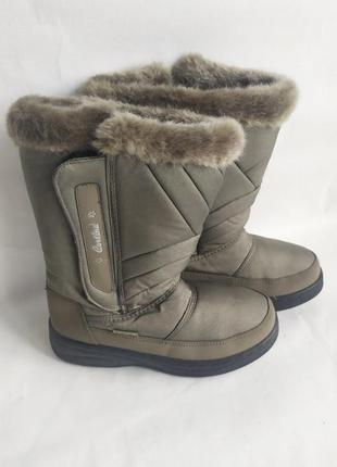 Зимние сапоги дутики снегоходы сноубутсы cortina