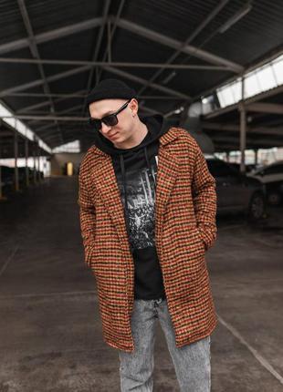 Крутое мужское пальто тренч 2021
