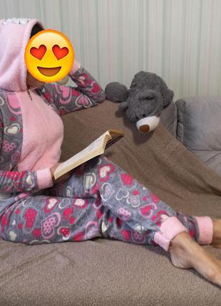 Пижама, спальный костюм, комбинезон, кигуруми,ночной костюм