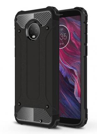 Бронированный противоударный чехол для Motorola Moto G6 Plus