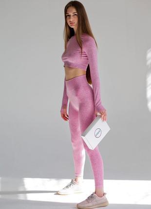 Женский спортивный комплект Enjoy Betty (pink) S,M